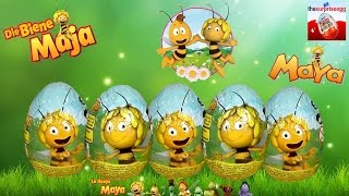 5 MAYA the Bee chocolate surprise eggs Die Biene Maja Überraschungsei