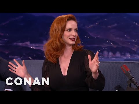 Christina Hendricks On Joining The