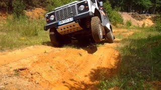 Land Rover Defender Central Diff Lock Test