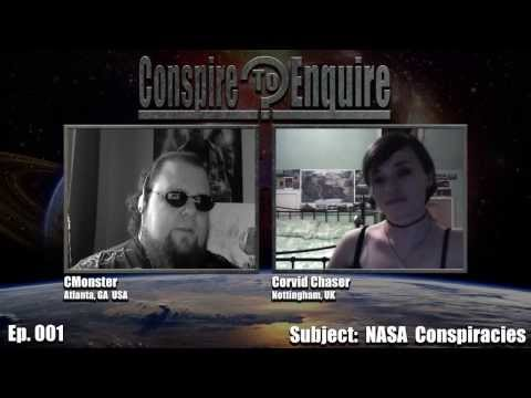 Ep. 001 - Conspire to Enquire Podcast - NASA Conspiracies