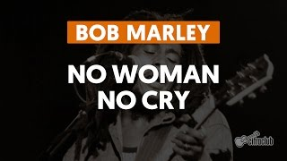 Bob Marley No Woman No Cry Guitar Lesson How to play easy