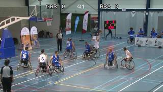 Easter Tournament Wheelchair Basketball 2019 - Match 3: Great Britain - Brasil
