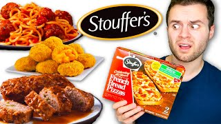 I ate ONLY Stouffer's meals for a WEEK...
