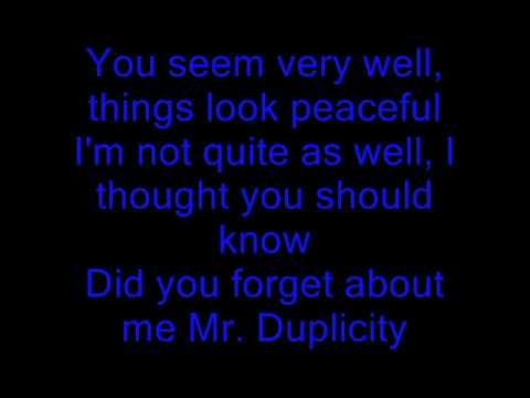 You Oughta Know  - Alanis Morissette - Lyrics