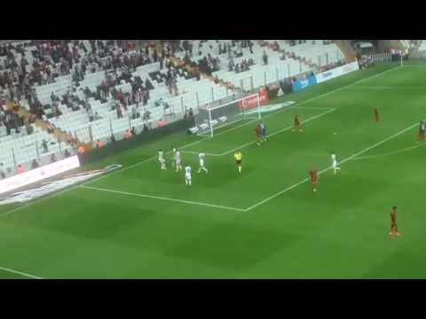 Aboubakar Golü - Beşiktaş 2-0 Gaziantepspor - Talisca Asist (Taraftar Çekimi)