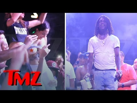 Chief Keef Goes Into Stupor After Girl Flashes Him At A Show [VIDEO]