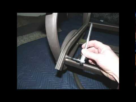 Carter Grandle Replacement Chair Sling Install Mpg Youtube