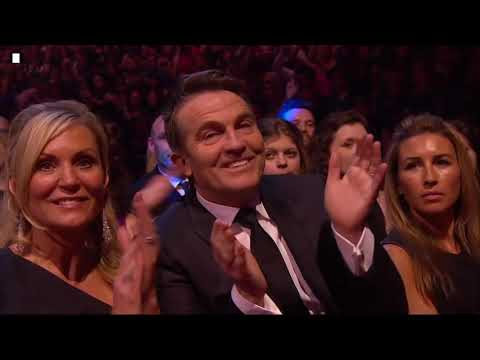 Benedict Cumberbatch wins TV Detective at the National Television Awards 2014