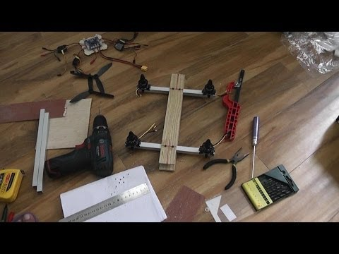 How to Build FPV Super Quadcopter in a day