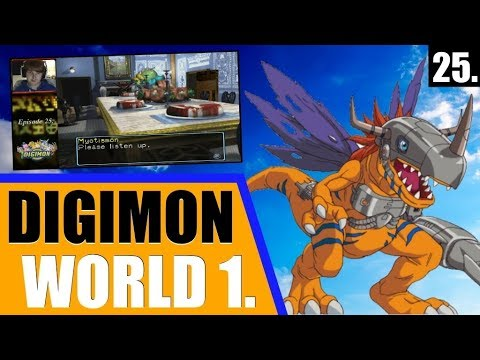 Digimon World 1: Playthrough (2017) - Ep. 25 - The Mysteries of Grey Lord's Mansion...