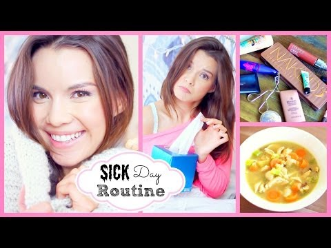 Sick/Chill Day Skincare, Makeup, Outfit + Chicken Soup Recipe!
