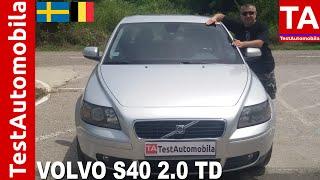 VOLVO S40 gen.2 - 2007 - 2.0 TD 136KS - TEST