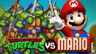 Ninja Turtles VS. Mario: REVENGE