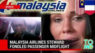 Sex scandal on Malaysia Airlines  Chief steward put his hands in passenger's pants to 'comfort' her