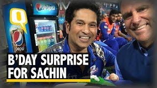 The Quint: Wankhede Stadium Erupts Into 'Happy Birthday Sachin'
