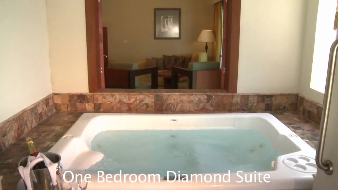 Valentin Imperial Maya One Bedroom Diamond Suite Room Preview YouTube