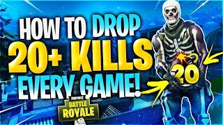 HOW TO GET A 20+ KILL WIN! (Fortnite Battle Royale)