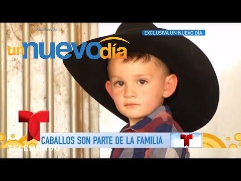 ¡Ezequiel Peña nos abrió las puertas de su rancho!   Un Nuevo Día   Telemundo