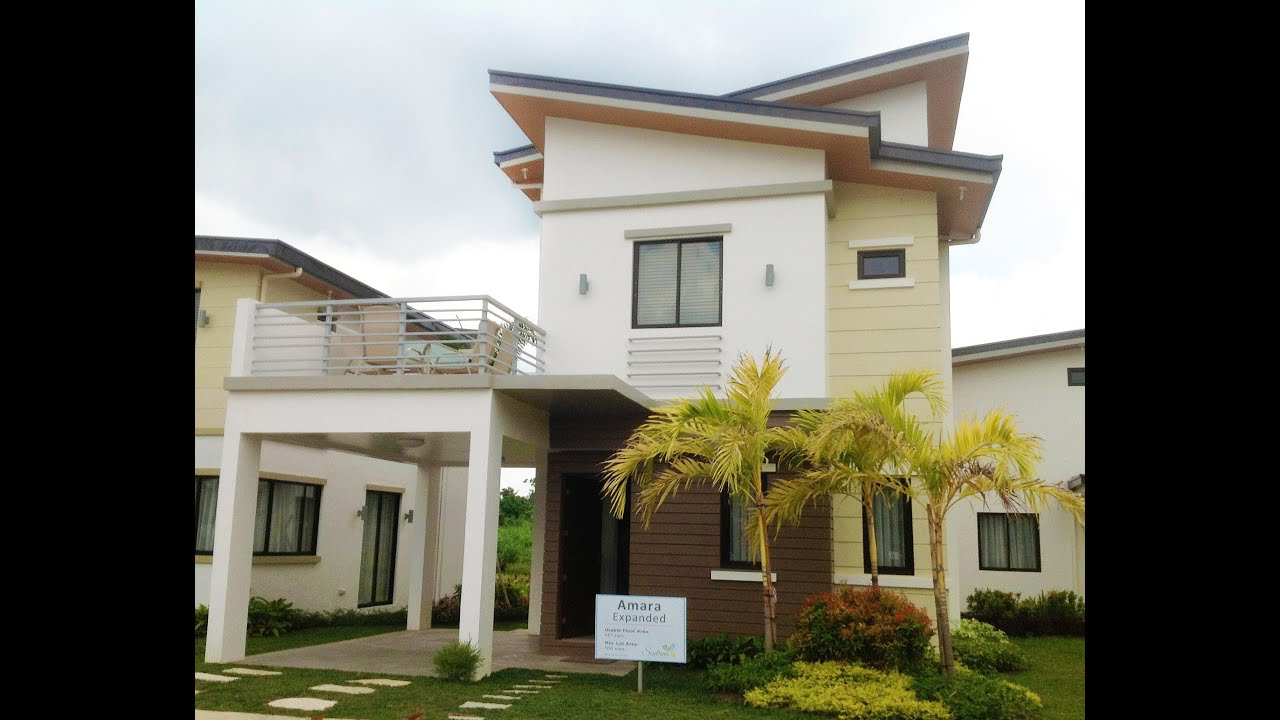 Amara expanded house model sentrina subdivision lipa for Subdivision house plans