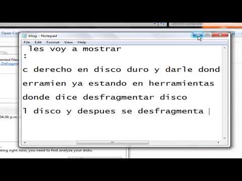 como desfragmentar tu disco duro en windows 7 (HD)
