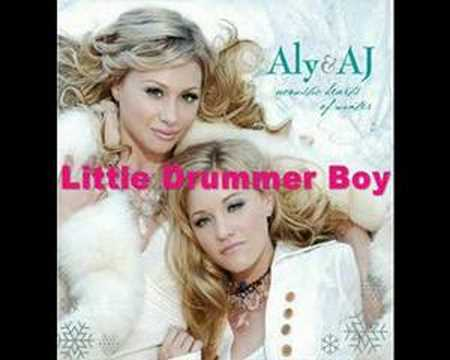 Aly & AJ - Little Drummer Boy Lyrics | MetroLyrics