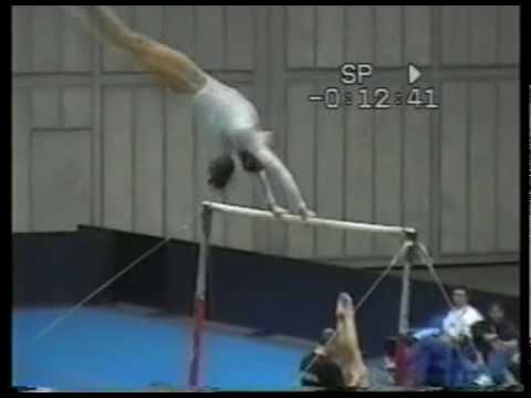Uneven bars. Code of Points. Groop B