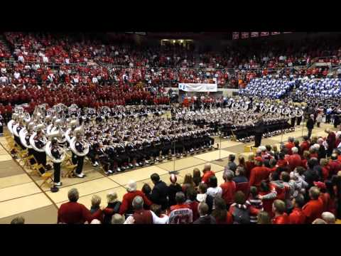 The Ohio State University Marching Band - Campus Chimes And Carmen Ohio