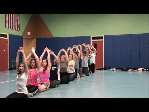 Taal Se Taal Mila Western - Bollywood Dance For Beginners Spring 2011 Class video