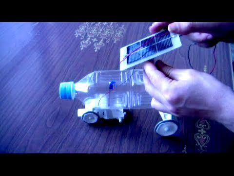 A Solar Powered Toy Car (Handmade)