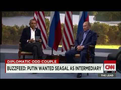 Buzzfeed Putin wanted Steven Seagal as intermediary - CNN Video