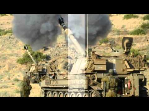 Israel Attacks Syrian Army Sites In Golan Heights Clash   18 Mar 2014 MUST SEE