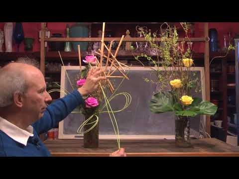 How To Create Contemporary Water Based Floral Design: Quick & Easy Floral Secrets