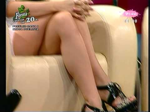 Radmila Manojlovic SEXY crossed legs,hot dress