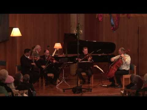 Alexander String Quartet: Dvorák Piano Quintet in A Major, Op 81 - III. Scherzo