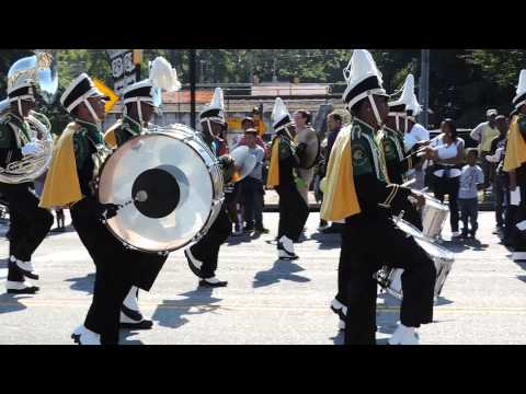 Langston Hughes High School Marching Band- 2013