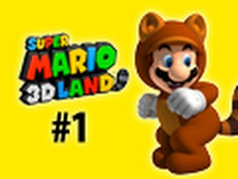 Super Mario 3D Land Walkthrough - World 1-1, 1-2, 1-3 - TWD98