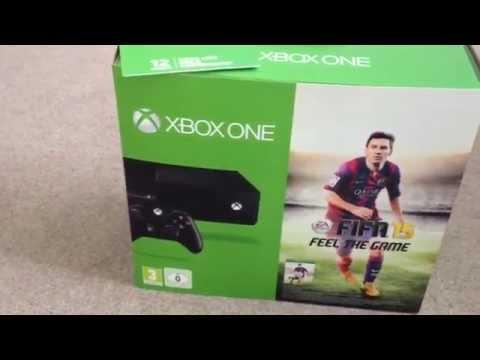 Xbox one: Fifa 15 bundle unboxing
