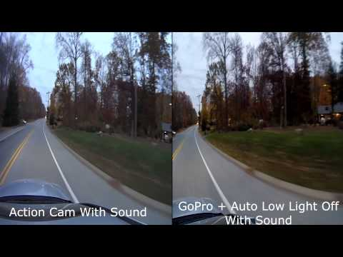 GoPro Hero3 Black plus + vs Sony Action Cam HDR-AS30 Comparison Review