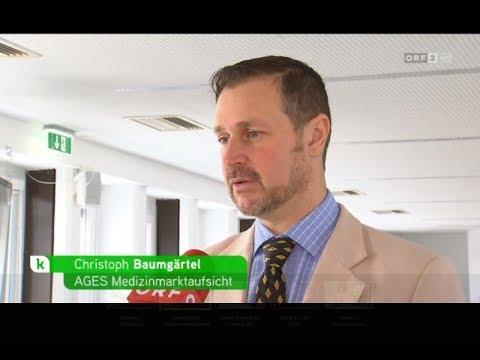 ORF konkret   Verunreinigte Blutdruckmittel Valsartan Rückrufe, Christoph Baumgärtel AGES