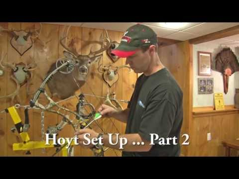 Setting Up A Hoyt Compound Bow For Hunting. The Easy Way. Part 2