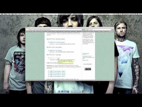 A Version of Gimp for Mac OS X Lion