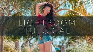 Lightroom tutorial: how to create a teal and orange look (free preset download)
