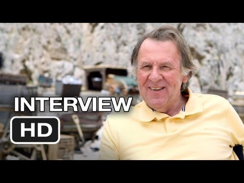 The Lone Ranger Interview - Tom Wilkinson (2013) - Johnny Depp, Armie Hammer Western HD