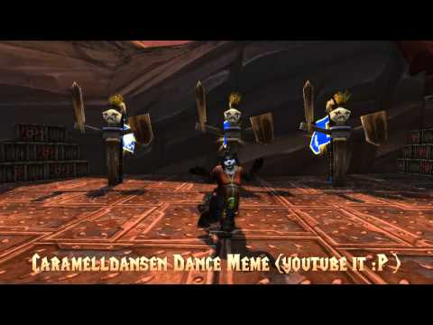 Mists of Pandaria - Pandaren Dance Moves (with video comparison)