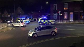 Armed Police Ram and Surround a Car - Sheffield