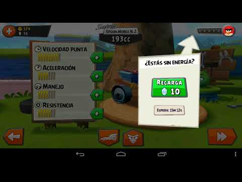 Angry Birts Go•Game Play•Español•Super Juego Android•