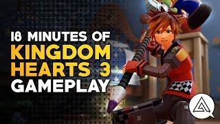 18 Minutes of Kingdom Hearts 3 Gameplay