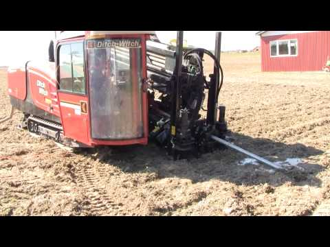 Ditch Witch JT3020 Directional Drill Working