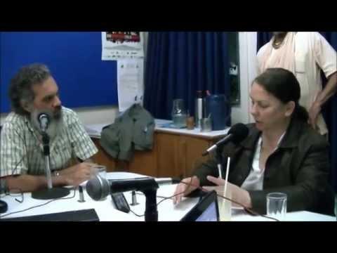 Dra Graciela Vizcay Gomez y Petrona Villasboa en Radio Ñandutí.