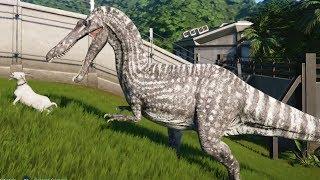Jurassic World Evolution - Suchomimus (Savannah Skin) Gameplay (PS4 HD) [1080p60FPS]
